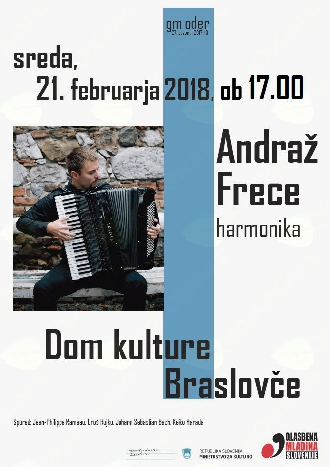 GM oder - koncert Andraž Frece - harmonika