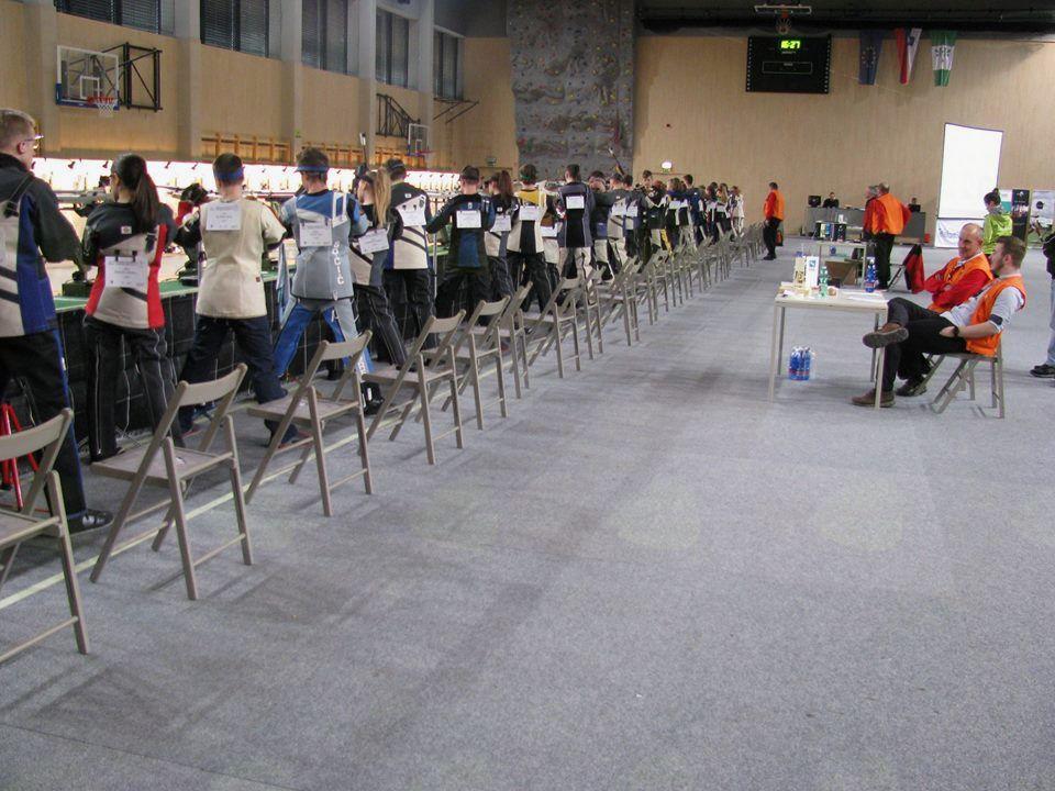 Prizorišče tekmovanja v športni dvorani