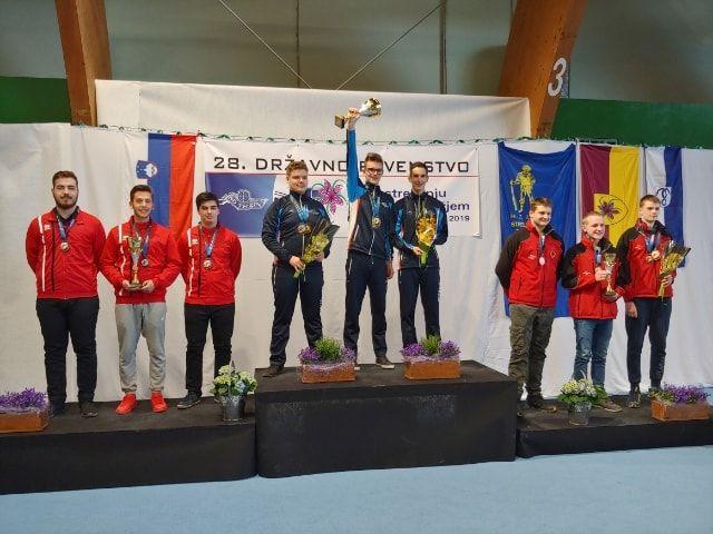 2. mesto mladincev na državnem prvenstvu v Mengšu