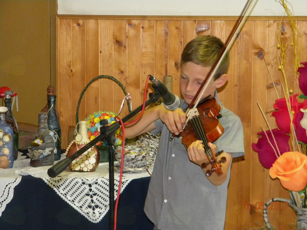 Violinist MARK LEV KRAJNC