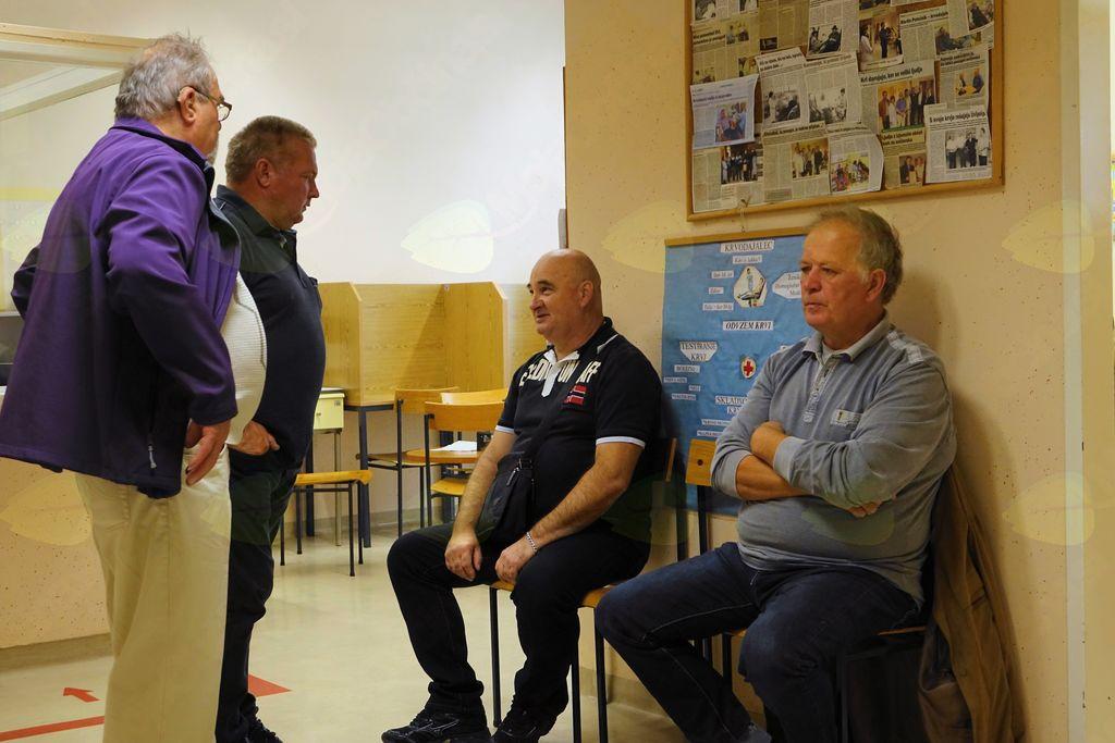 4 vitezi: Oskar Šturm, Martin Golenko, Darijan Predikaka in Marjan Milinovič