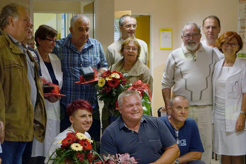 Skupinska za spomin na velik dan na Transfuziji Ptuj