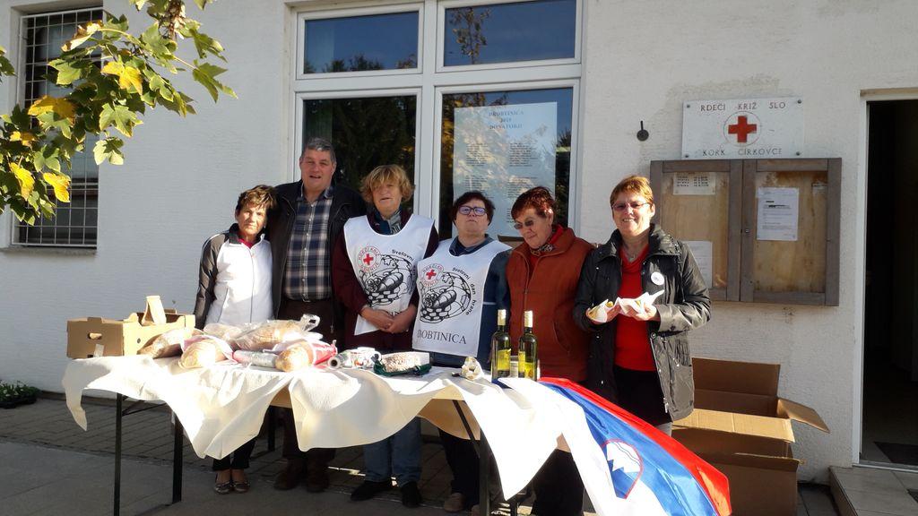 Drobtinico podpira tudi župan, g. Anton Leskovar