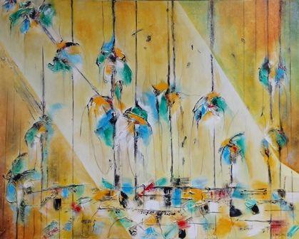 Odprtje razstave slikarja Vinka Prislana