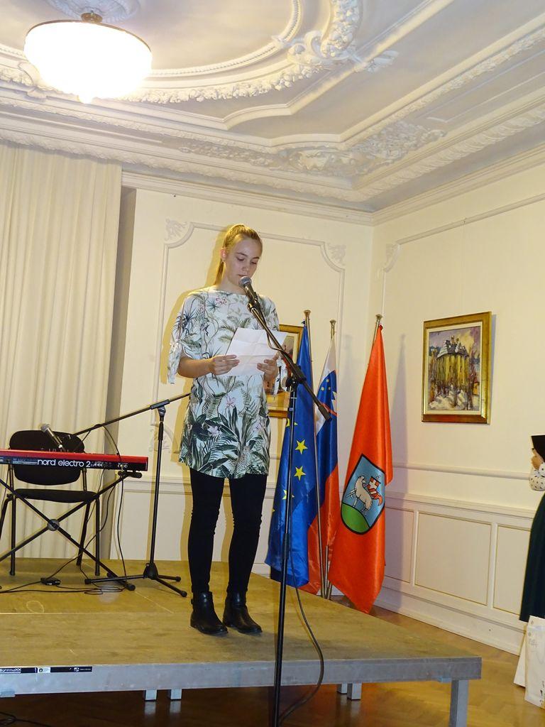 Prireditev od 20. pesniški olimpijadi in 9. otroški pesniški olimpijadi