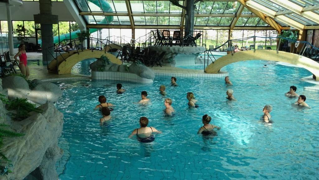 Vodna aerobika v Eco park Hotelu 01