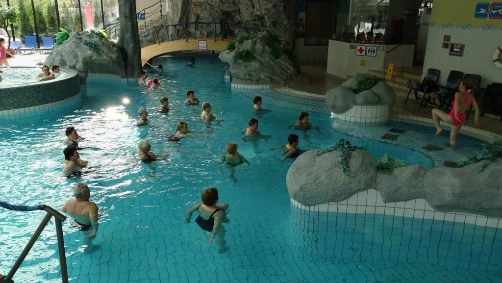 Vodna aerobika v Eco park Hotelu 02