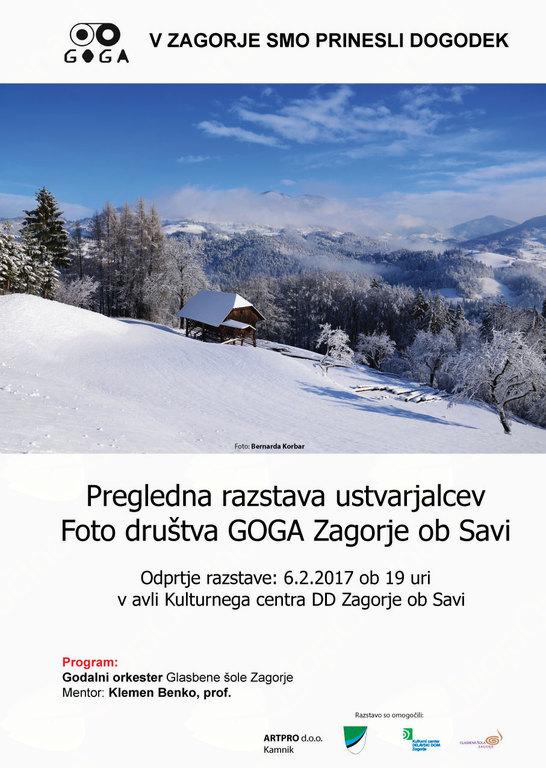 fotografska razstava GOGA se predstavi