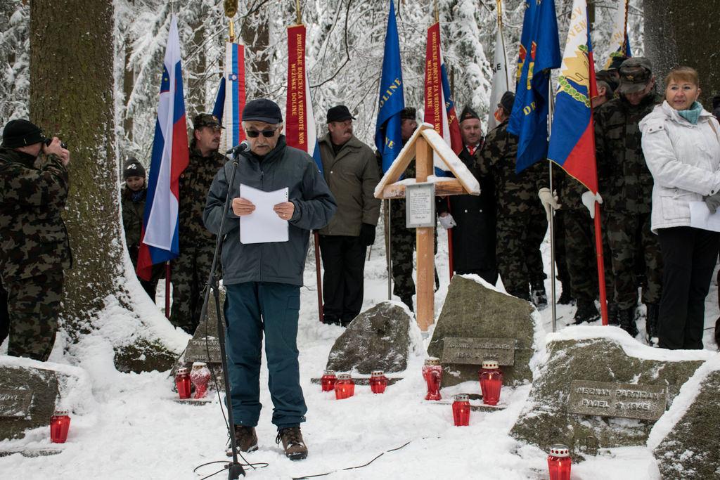 Spominska komemoracija pri sveti Neži