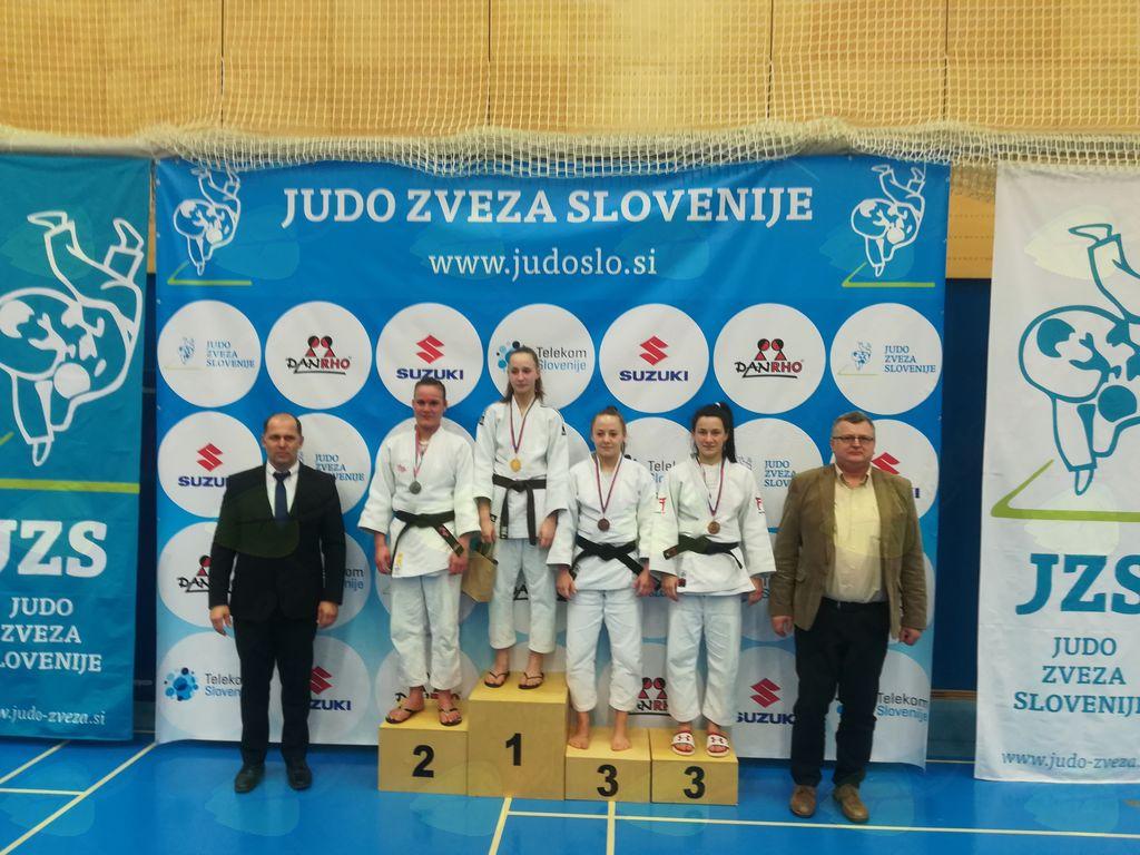 Tjaša in Ljudmila bronasti na državnem članskem prvenstvu