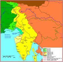 Z novo mejo je bila Primorska vključena v kraljevino Italijo