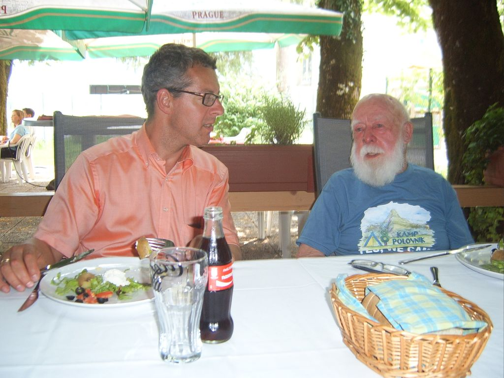 Martin Konings in Paul van Oostveen nam. nizozemskega veleposlanika