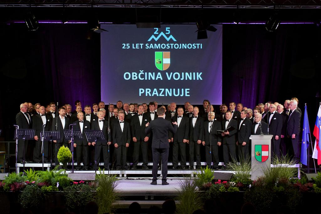 Moški pevski zbori KUD France Prešeren Vojnik, KUD Nova Cerkev in Prosvetnega društva Anton Bezenšek Frankolovo