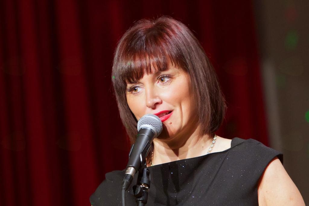 Program je povezovala Andreja Petrovič (foto: Matjaž Jambriško).