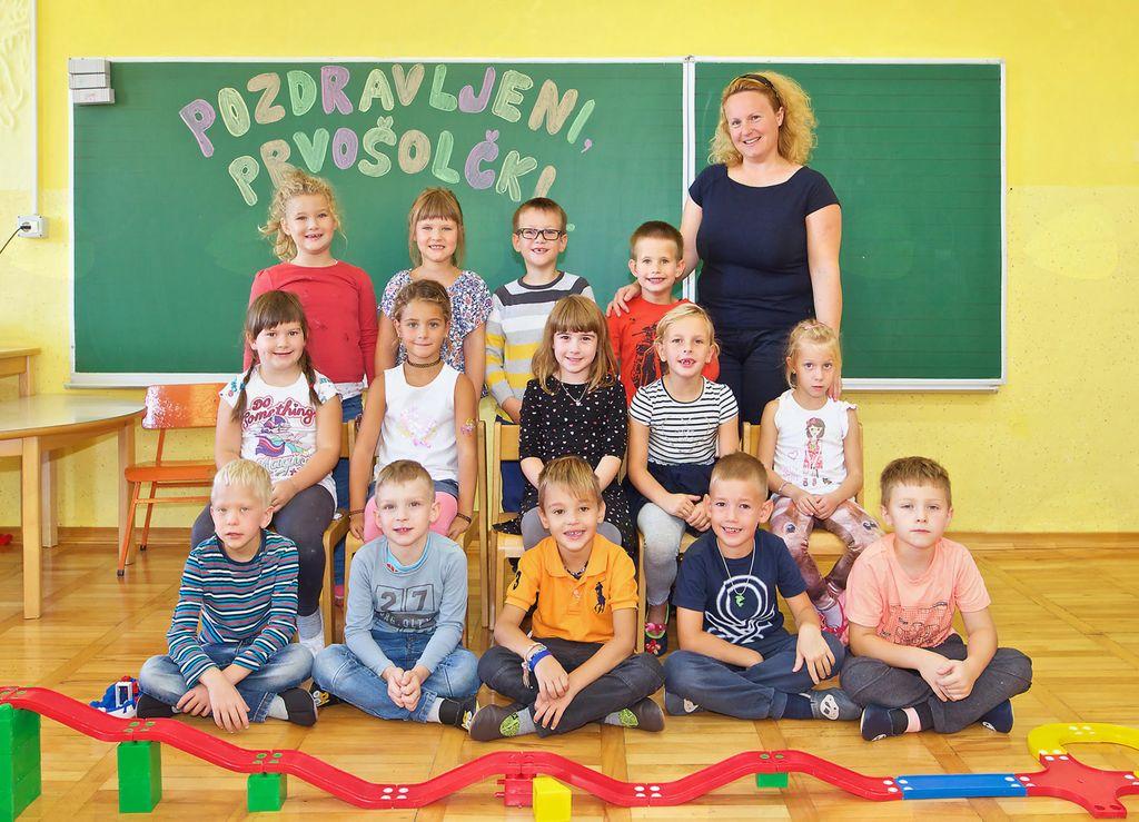 Osnovna šola Vojnik, Podružnična osnovna šola Nova Cerkev, 1. razred