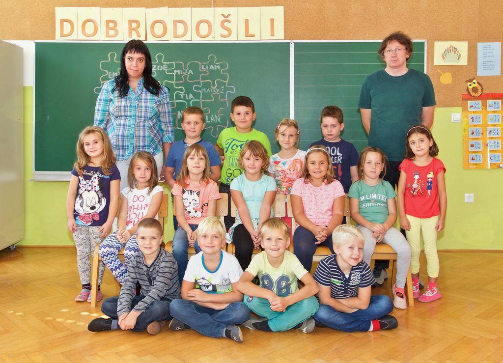 Osnovna šola Antona Bezenška Frankolovo, 1. razred