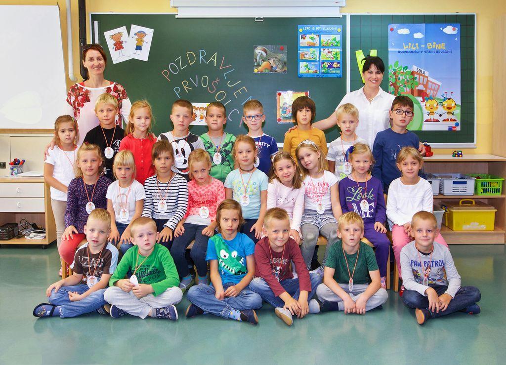 Osnovna šola Vojnik, 1. b - razred