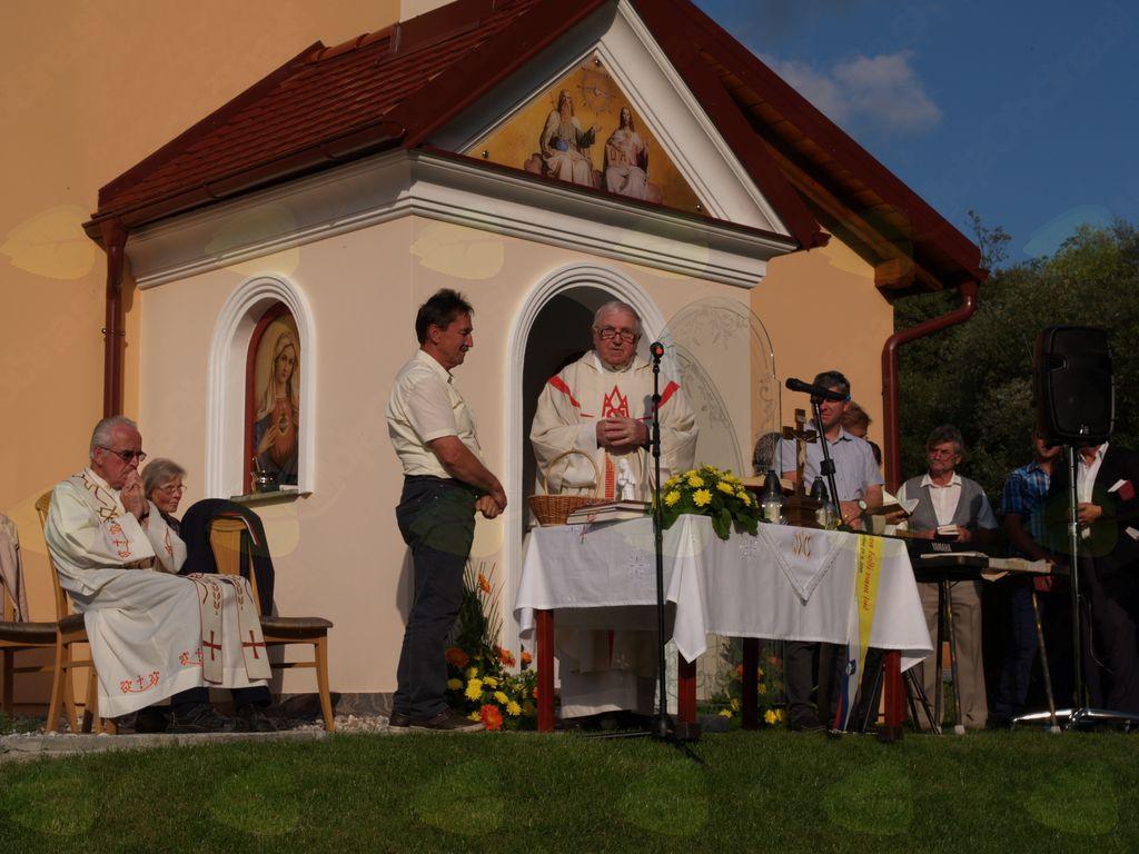 Blagoslov nove Slomškove kapele