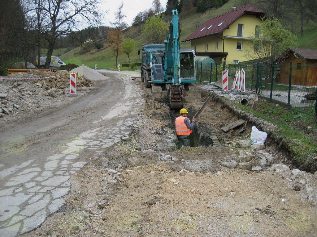 Izgradnja vodovodov in kanalizacij