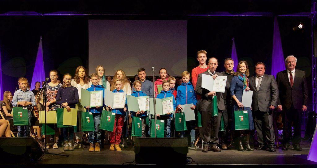 Nagrade so prejeli najuspešnejši športniki.