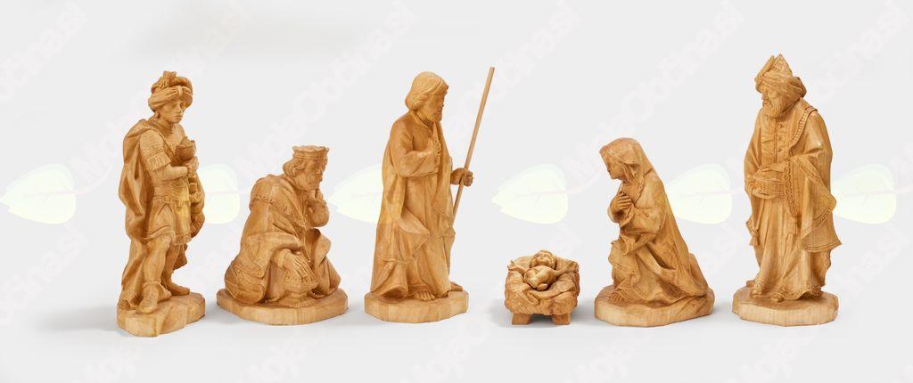 Peter Gojkovič iz Spuhlje pri Ptuju, lesene jaslice