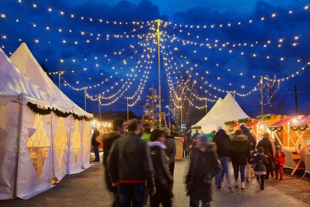 Božični Vojnik je vsak dan privabil veliko število obiskovalcev, največ pa med prazniki in ob koncih tedna.