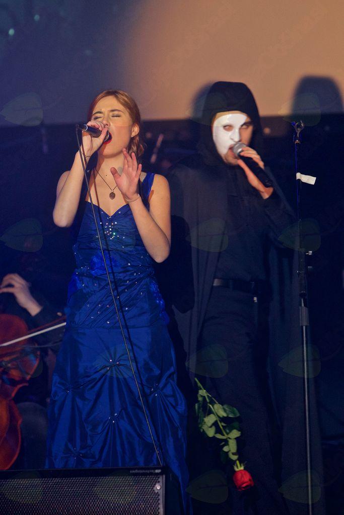 Fantom iz opere z Urško Oprčkal in Maticom Zakonjškom