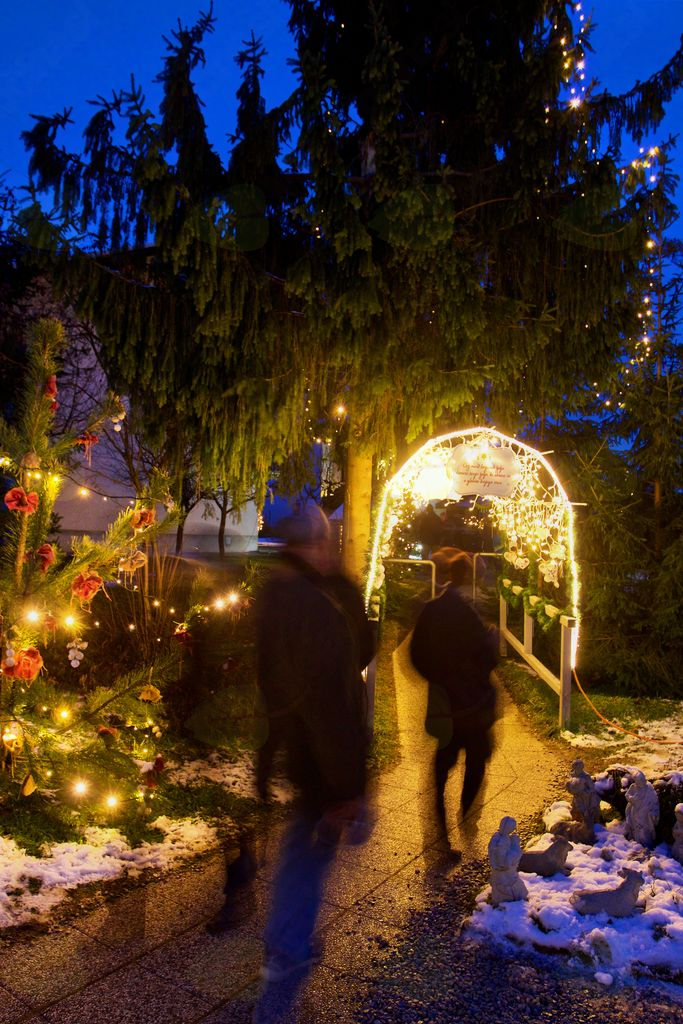 Čez most božičnih želja ponesi svojo željo, ki skriva se v globini tvojega srca.