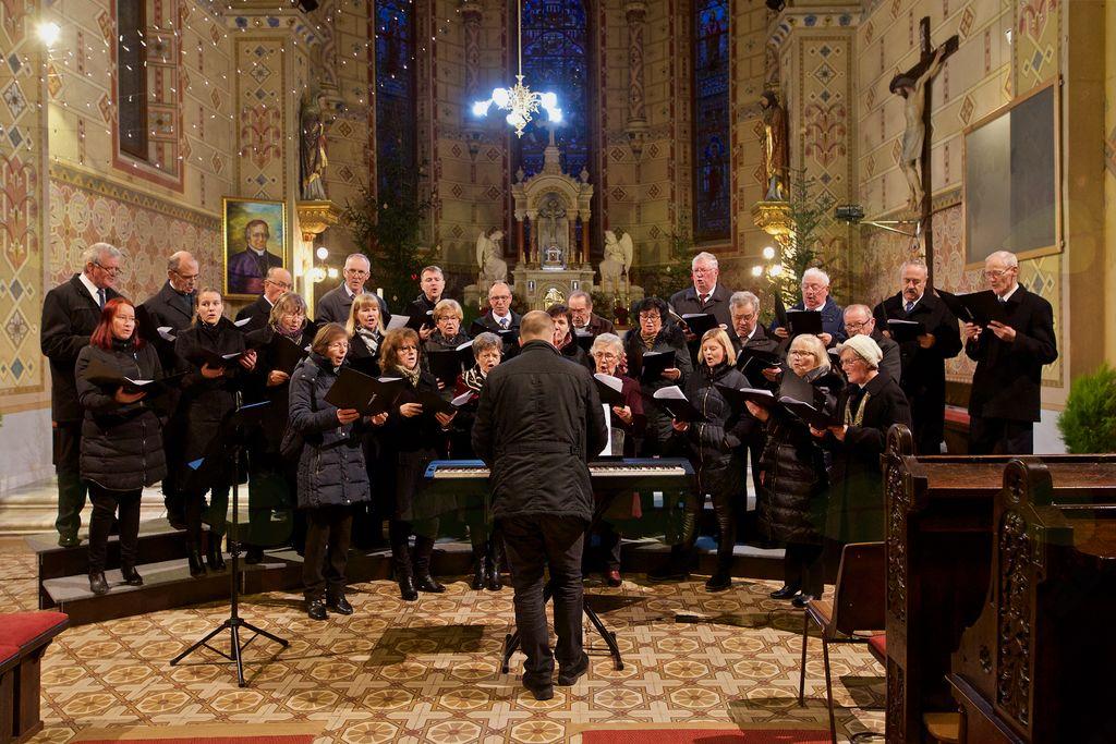 Na zaključku je sodeloval tudi Mešani cerkveni pevski zbor sv. Jerneja Vojnik.