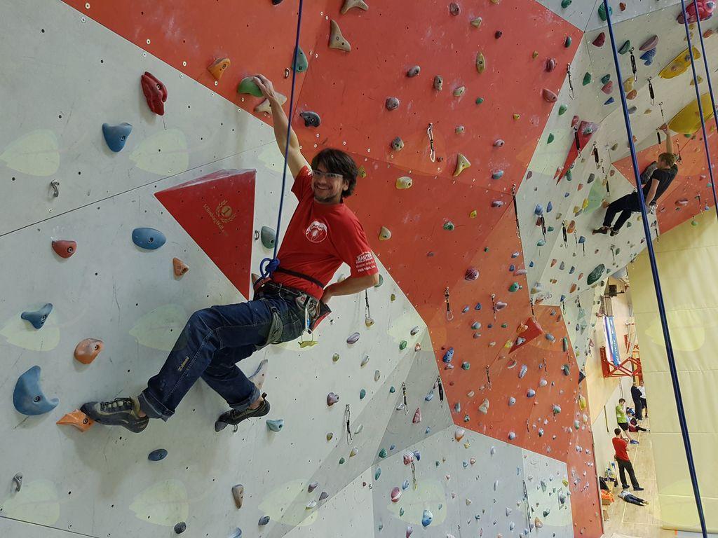 Karli Pintarič skrbi za razvoj mladih plezalnih upov.