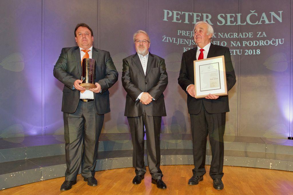 Peter Selčan je prejel nagrado za življenjsko delo s področja kulture v letu 2018.