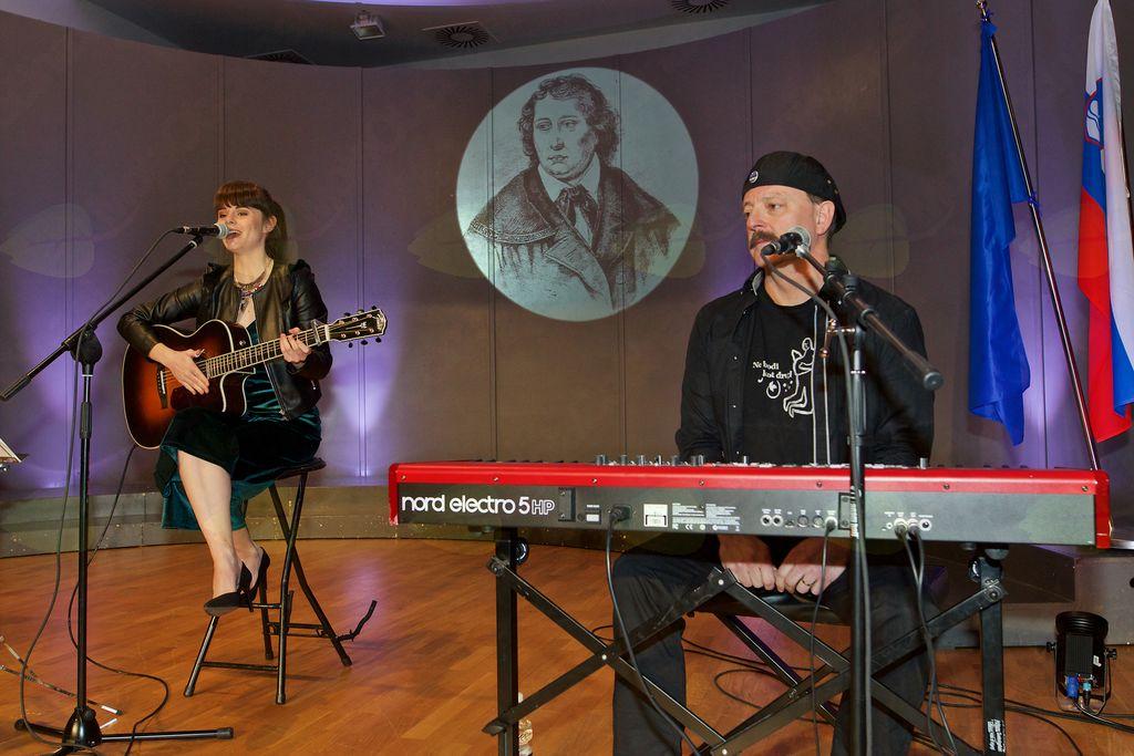 Pevka Ditka z očetom Gorazdom