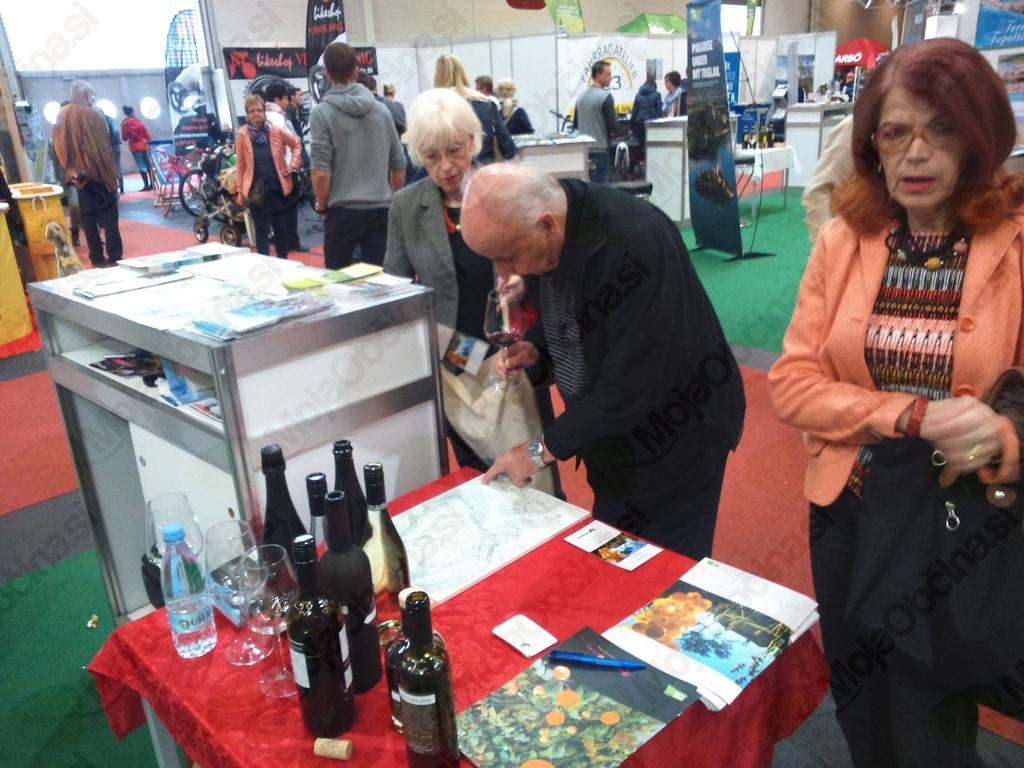 Korošce zanimajo vipavska vina, jedi in poti