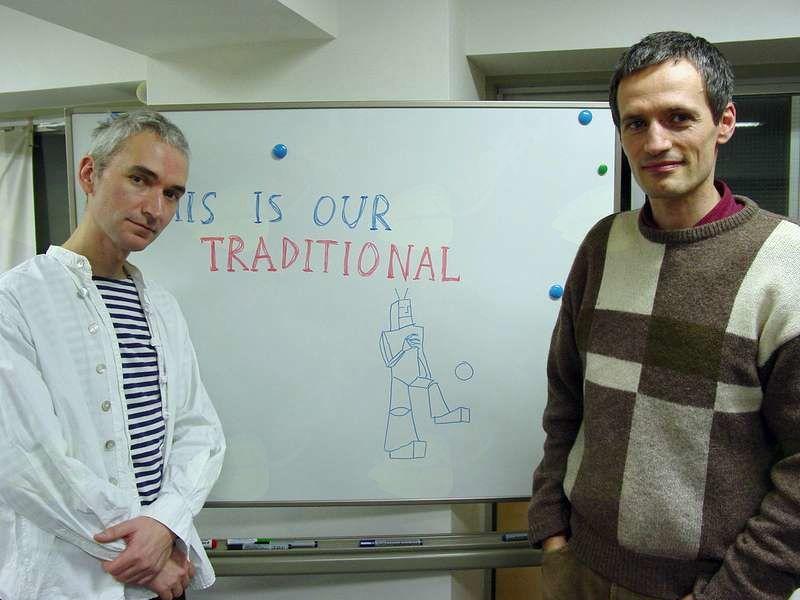 Delavnica skupine ŠKART (Djordje Balmazović in Dragan Protić)