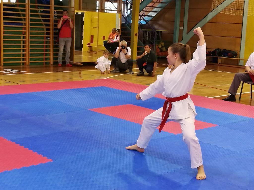 Karate klub WKSA Duplek skupno 3. v Rogaški Slatini