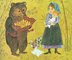 Otroška matineja: Hvaležni medved