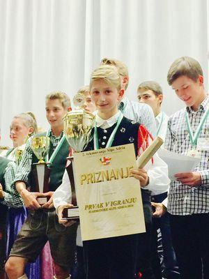 Mednarodno tekmovanje v igranju na diatonično harmoniko Alpe adria 2016