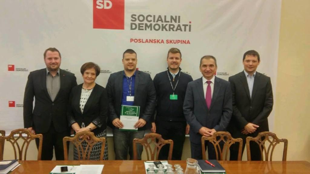 Tudi v poslanski skupini SD nesporna podpora 3. razvojni osi