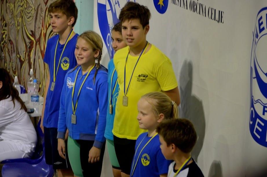 Plavalni klub Fužinar na Pokalu mesta Celje