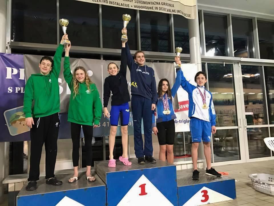 Posamezno državno prvenstvo za dečke in deklice v plavanju