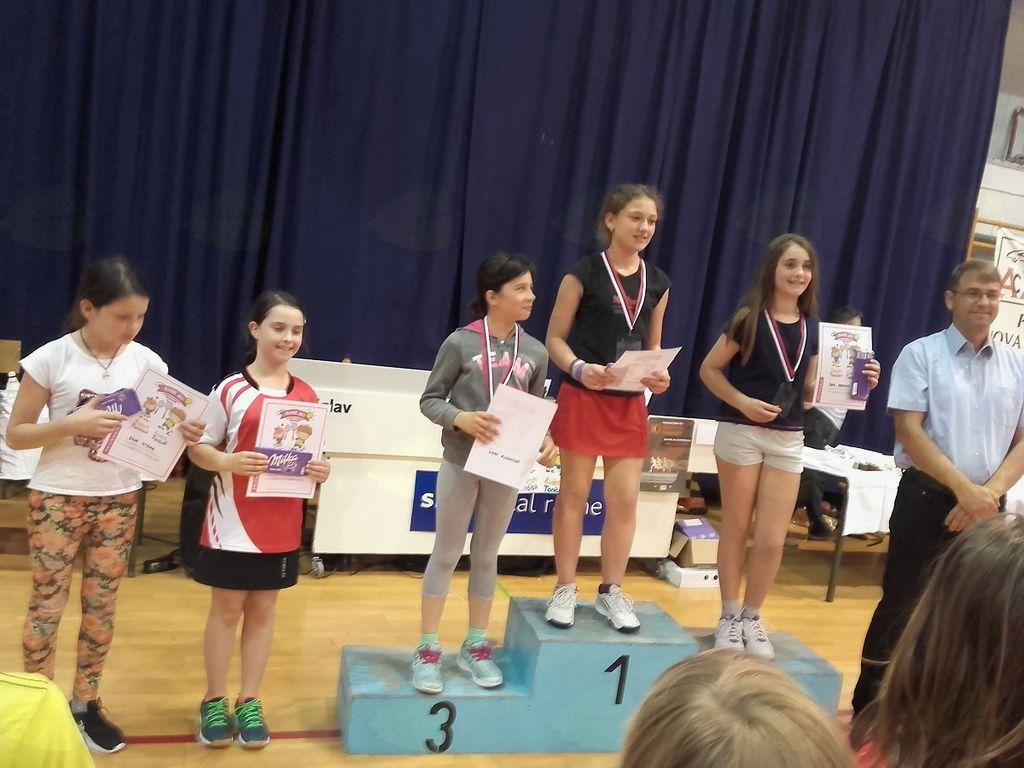 Badmintonček –Badmintončica 2017