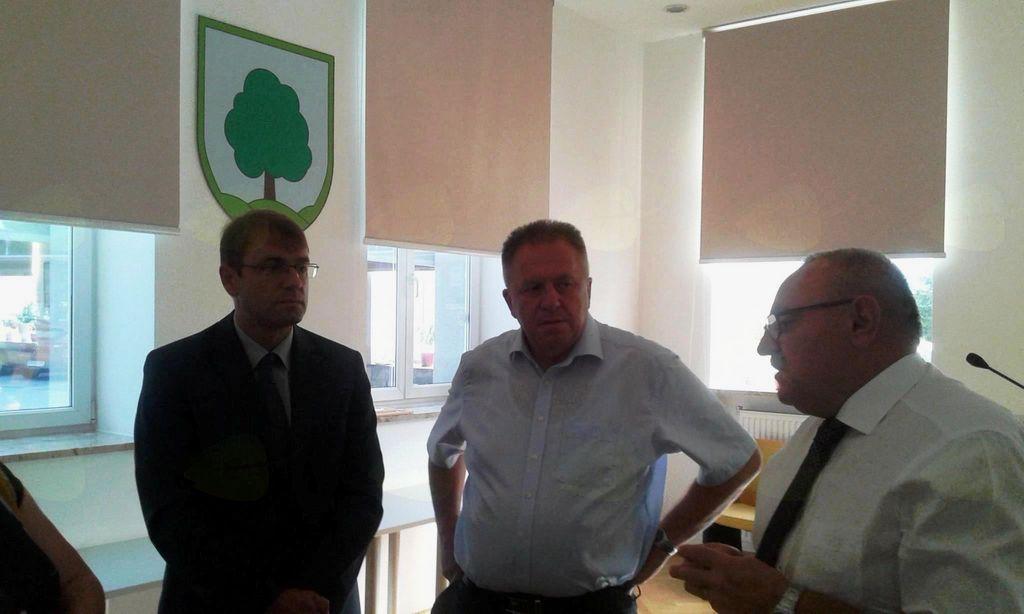 Obisk ministra za gospodarski razvoj in tehnologijo