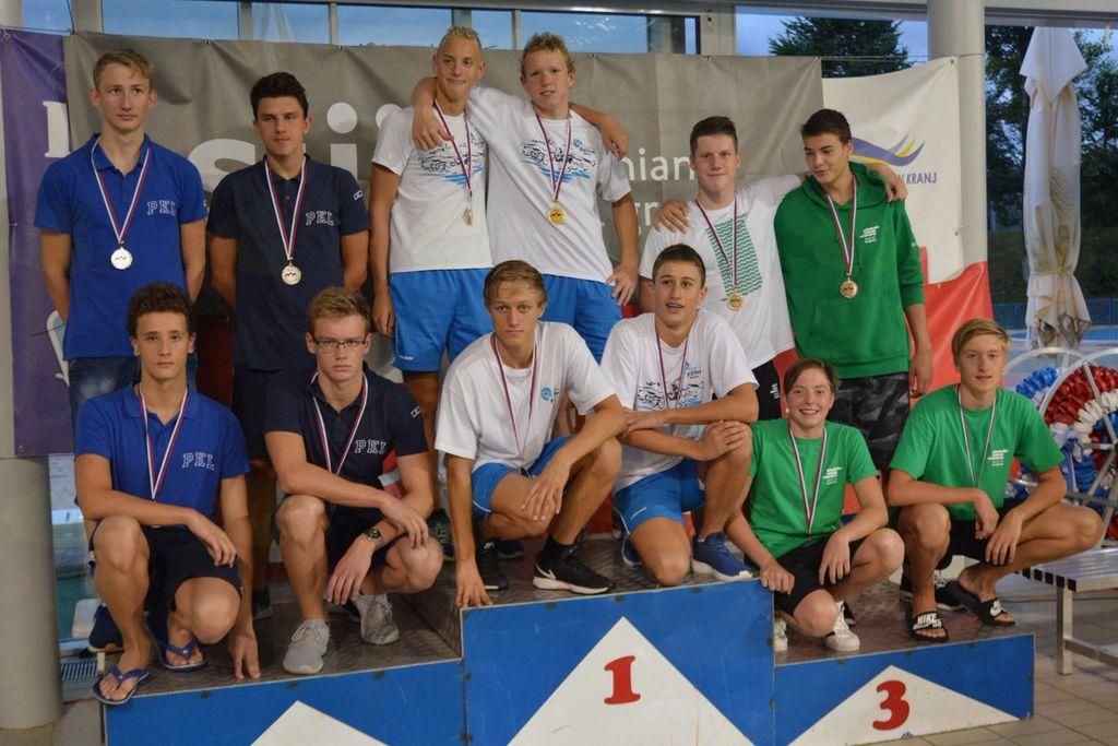 Tudi zadnji dan plavalnega državnega prvenstva Ravenčani rekordno
