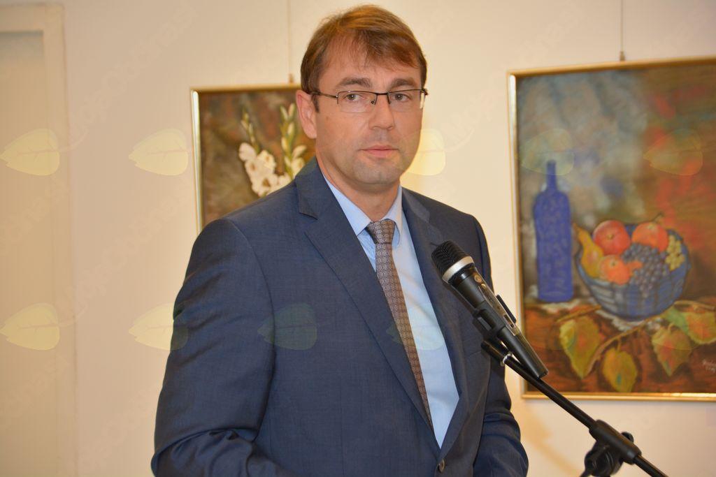 Odprtje razstave Likovne sekcije DU Ravne na Koroškem