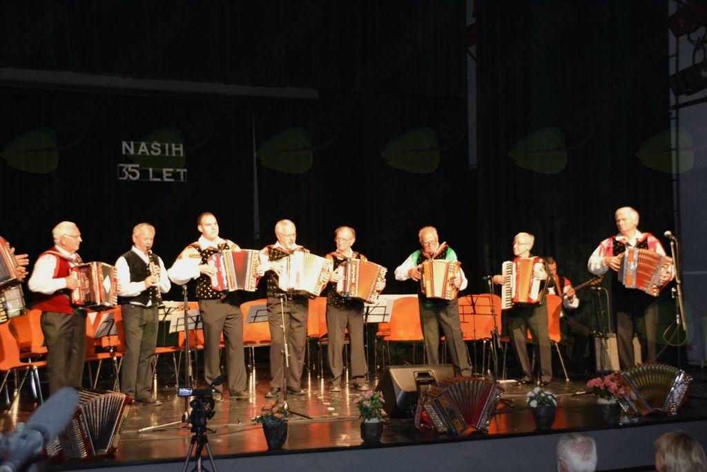 35-letnica Harmonikarskega orkestra KD Prežihov Voranc Ravne
