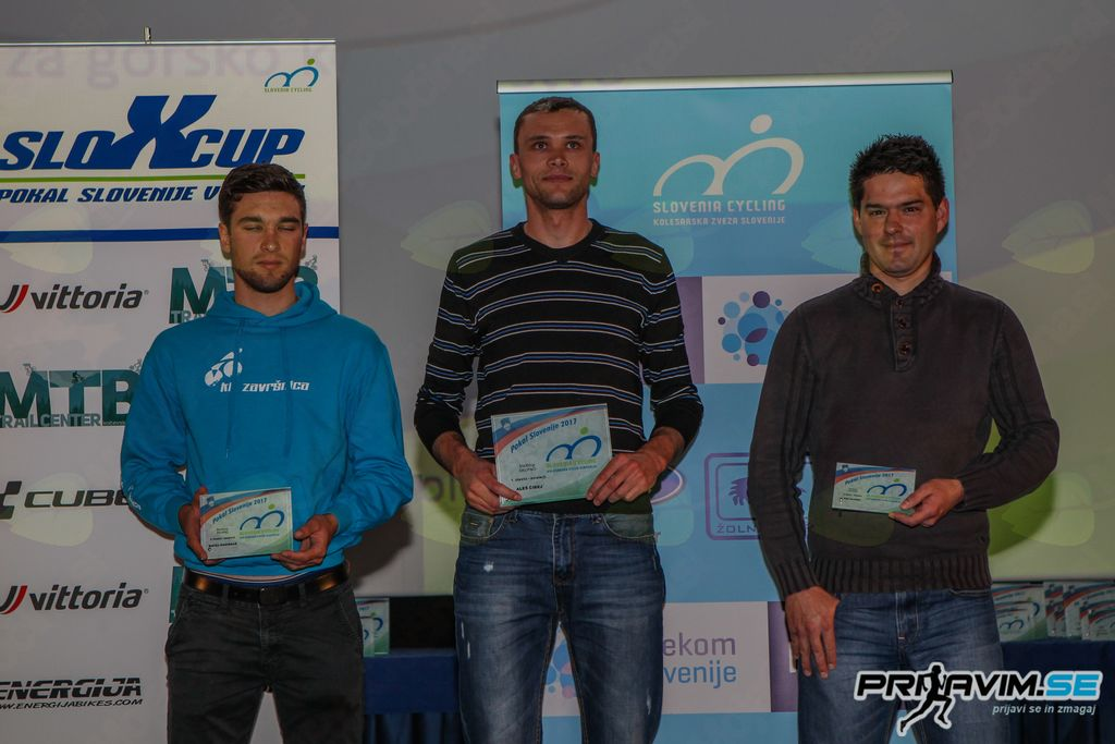 Pokalna podelitev v gorskem kolesarstvu za sezono 2017