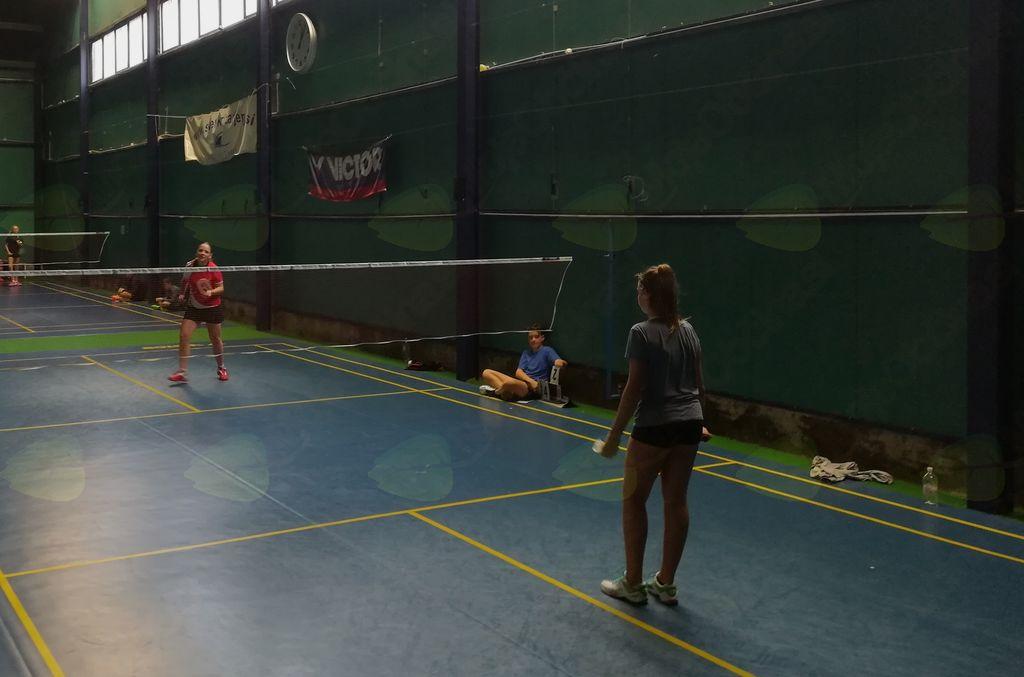 Turnir U-15 v badmintonu - 4. mesto Alme Sekereš in Bele Oder v Ljubljani