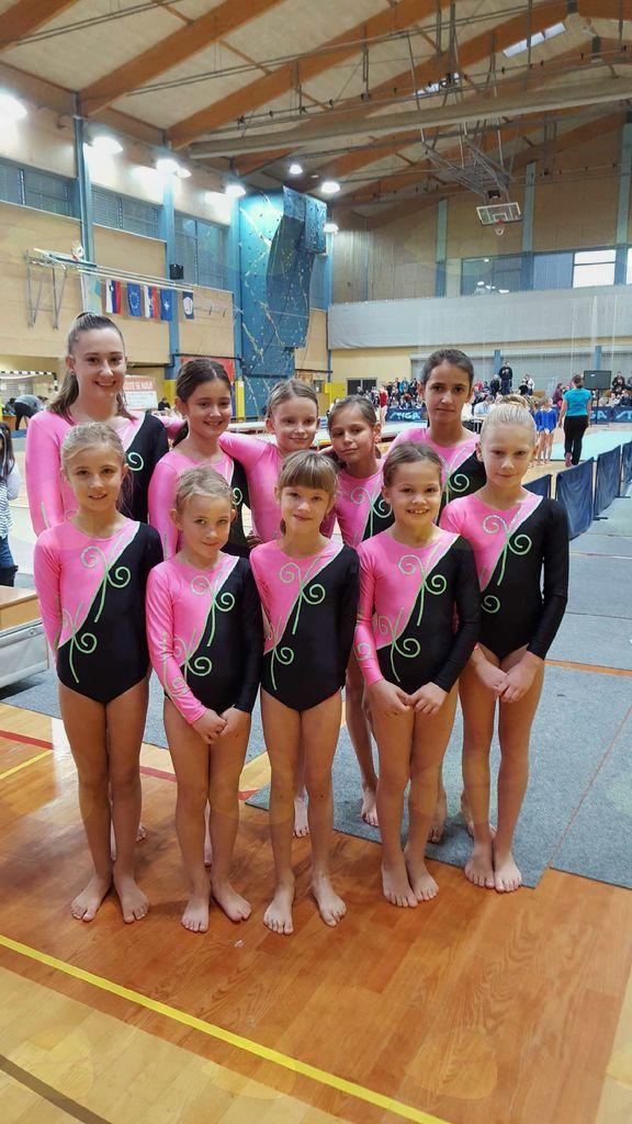 Gimnastičarke ŠD Partizan Ravne tudi ta vikend blestele