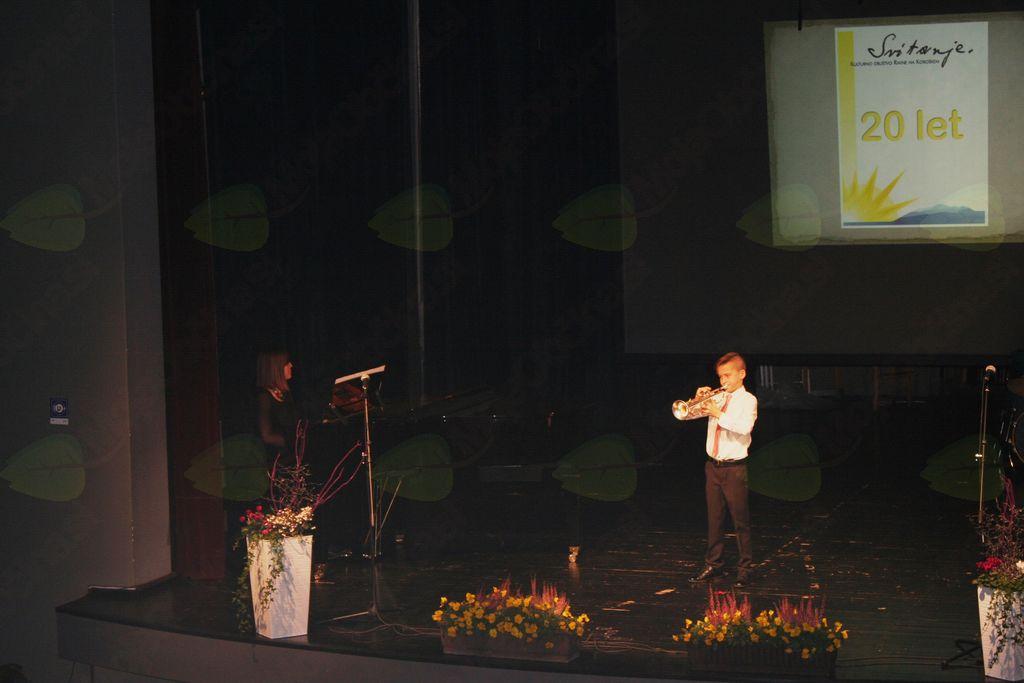 Slavnostna akademija ob 20. obletnici Kulturnega društva Svitanje
