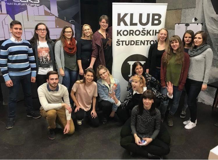 Člani Kluba koroških študentov ponovno zaupali vodenje Doris Brajnik